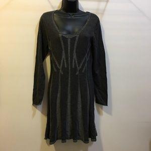Max Studio textured sweater dress size Medium NWT